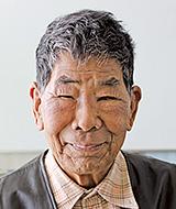 角田譲さん(岡山市在住、84歳)